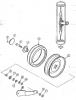 Прикатывающее колесо на стерневую сеялку СС 6,0А