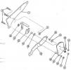Крепление прикатывающего колеса к сошнику СС 6,0А